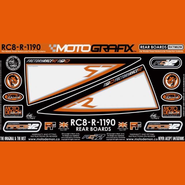 Motografix Steinschlagschutz hinten KTM RC 8 RKTM02W
