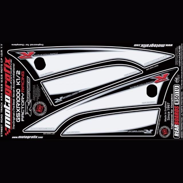 Motografix Steinschlagschutz hinten Suzuki GSX-R 1000 2001-2002 RS011U